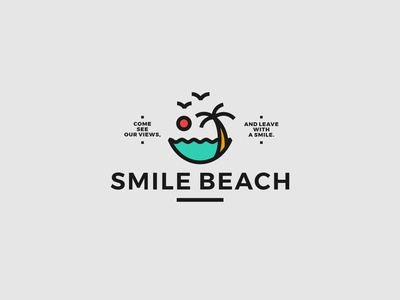 SMILE BEACH LOGO
