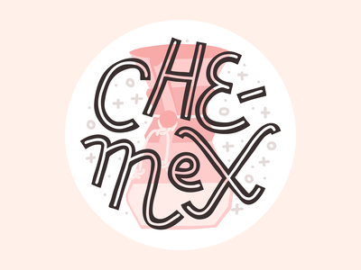 coffee and cakes dribbble chemex