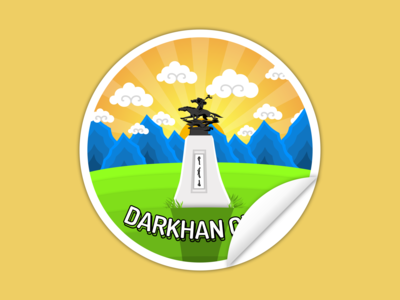 Darkhan Sticker Version