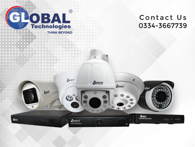 Global Technologies Security Cameras CCTV
