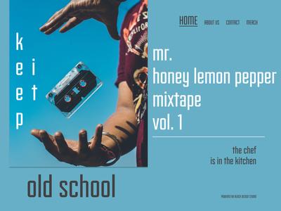 Mr Honey Lemon Pepper