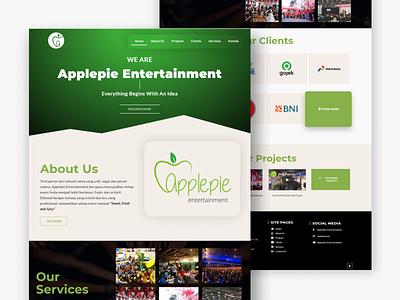 Event Organizer - Company Profile indonesia landingpage uiuxdesign makassar eventorganizer webdesign companyprofile