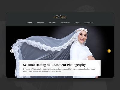 Photo Studio - Company Profile Website indonesia uxresearch uidesigns website design uidesign landingpage webdesign figma uiux photostudio website companyprofile
