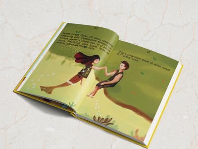 Children Book Illustratin, Creatspace formatting, 3D