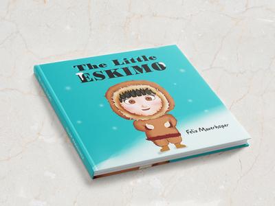 Children Book Cover, 3D Mock Up