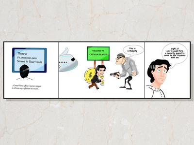 Cartoon, Comic