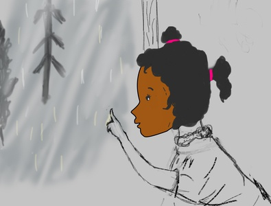 Finding the character for children illustration