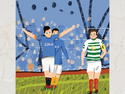 Football Children Book Illustration