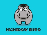Highbrow Hippo Blue