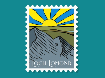 Loch Lomond Stamp