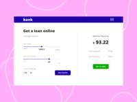 online loan calculator