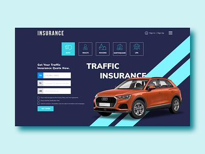 Insurance Website Design health graphicdesign graphic designer insurance company insurance website webdesign web designer web design ux logo clean web ui branding design