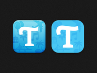 Travelog — Icon iOS6 vs iOS7