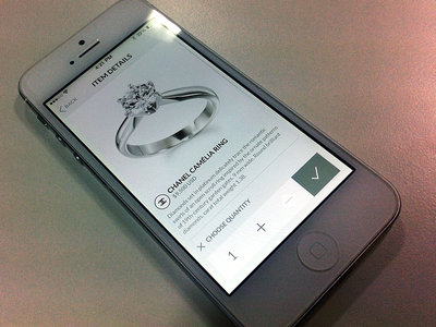 Jewelry shopping experiences iphone app jewelry shopping flat white ios7 clear