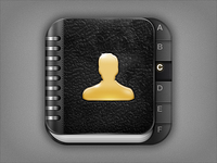 Icon for iPhone Contacts App