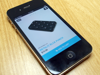 iPhone Case Shopping App iphone app shopping case ios ui gui mobile