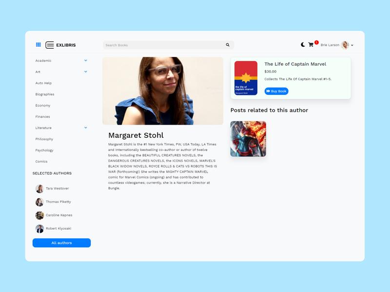 EXLIBRIS - Book Store WordPress Theme