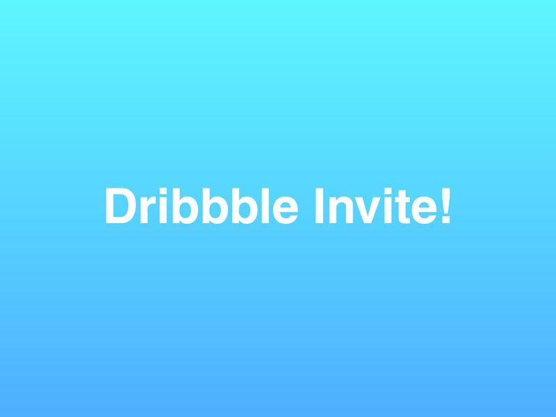 Dribbble Invitation #10 helvetica design graphic design minimalistic typography gradient drafting draft day dribbble best shot dribbble invitation dribbble invite dribbble invites invite