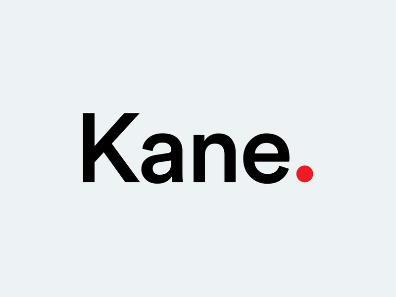 KANE - Logo for new WordPress Template project designer logo design logotype logos project icon vector branding logo wordpress design wordpress theme typography minimalistic graphic design design