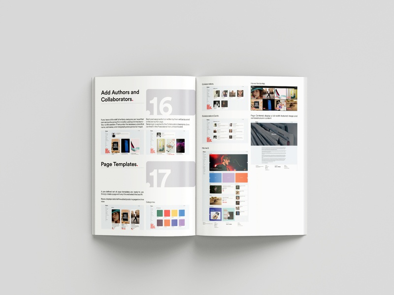 KANE - News Magazine Blog Bootstrap WordPress Theme editorial news user user experience manual documentation read pdf editorial design interface design ui ux web wordpress design wordpress theme typography minimalistic graphic design design