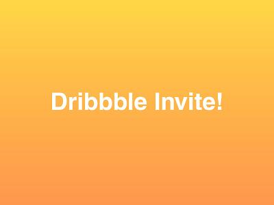 Dribbble Invitation #21 invite giveaway dribble shot dribbble invite graphic design design