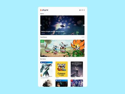 PLAYME - Videogames News WordPress Theme 🎮 templates blog news videogames games ux ui wordpress theme wordpress design minimalistic graphic design design