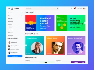 EXLIBRIS - Book Store WordPress Theme Homepage Shot