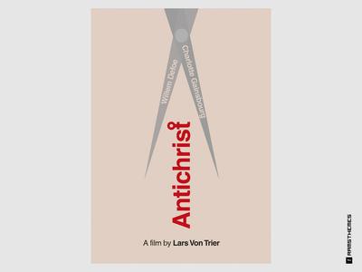 ANTICHRIST - Minimalist Swiss Style Lars Von Trier Movie Poster