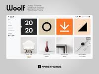 WOOLF - Author Furniture and Kitsch Goodies WordPress Theme