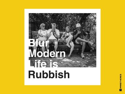 Blur - Modern Life is Rubbish Album Cover Remake 2019