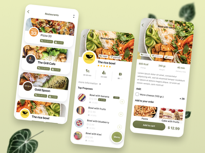 Food Delivery App appstore food delivery app food delivery food app branding app minimal ui design
