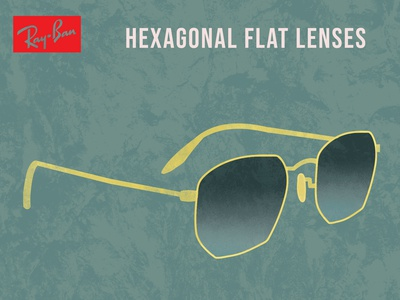 Hexagonal flat lenses