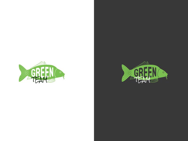 Logo for carp fishing team logo vector illustration animal art branding animal design