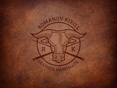 Logo for a leather accessory master