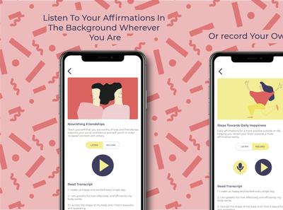 Mindful Affirmations App