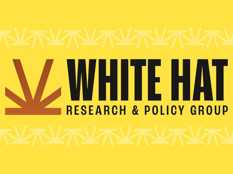 White Hat Research & Policy Group politics arizona branding