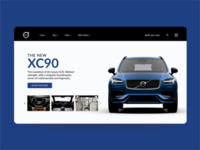 Landinpage for Volvo XC90