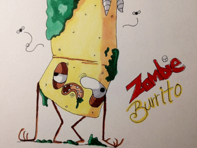 Burrito illustration