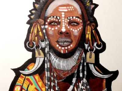 Bride of Africa