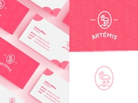 Artemis - Pattern and Business cards