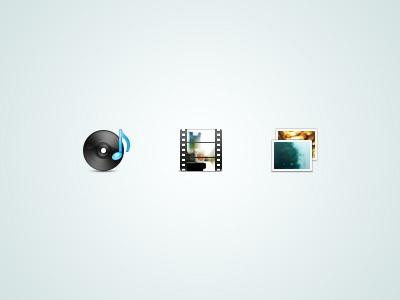 Simplicon icon website music videos photos 48px