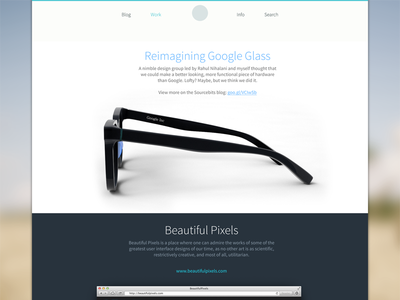 My Website: Work portfolio website web work benrulz showcase iphone web design minimal responsive web
