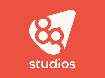 8g Studios  logotype branding 8g studios logo design gaming studio alex tass