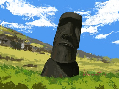 The Unsolved Mystery : Moai