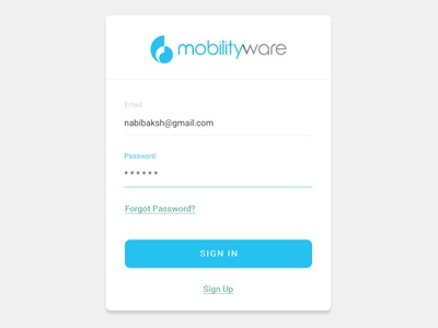 Mobilityware - Social Admin Login.