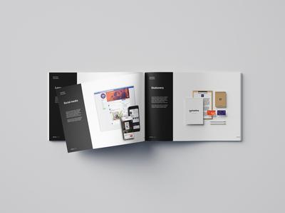 Brand presentation brochure