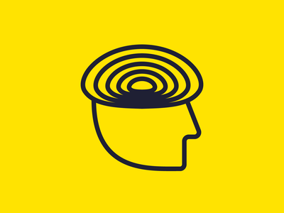 Brain / Mind / Thinking Logo Concept. Corporate Brand Identity. brand app icon icon branding corporate brand identity logo design brainstorming brainstorm logo thinking mind brain