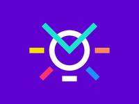 Mind Logo Design | M Letter + Light Bulb Logo Concept