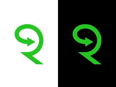 Renovation / Real estate / Interior Design Logo. R Letter Arrow startup logotype monogram identity brand branding smart design logo renovation arrow r letter interior design realtor real estate renovate