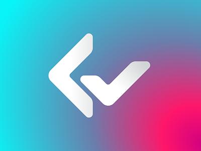 CodeReady Tech Logo Design | C Letter + Checkmark Monogram monogram startup app icon branding brand logo design programming language programmers it tech programmer programming coding code